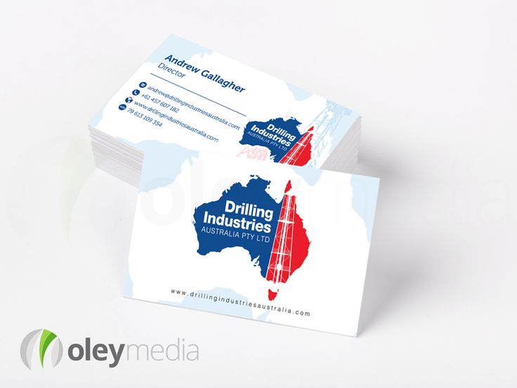 The 31 best business card design images on pinterest business card drilling industries business card design graphicdesign businesscards reheart Images
