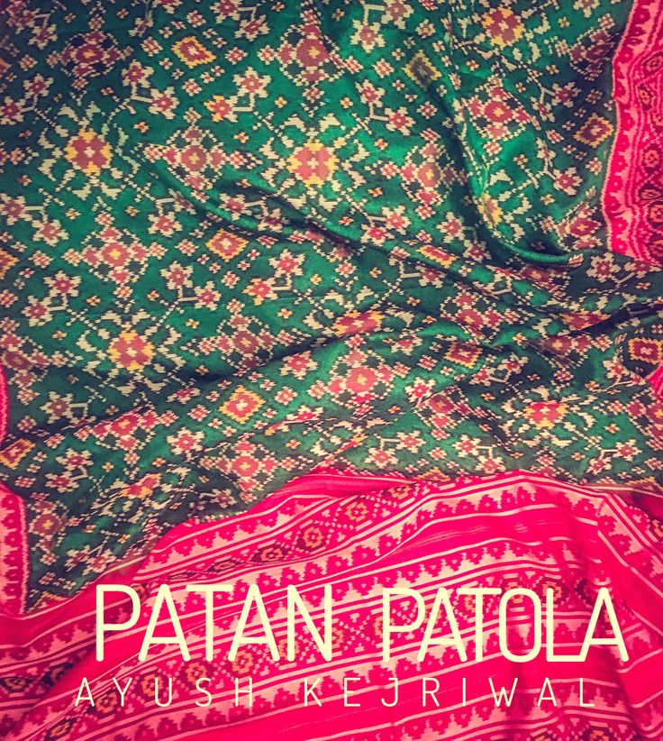 Patan patola saree by Ayush Kejriwal For purchases email me at designerayushkejriwal@hotmail.com or what's app me on 00447840384707 We ship WORLDWIDE. Instagram - designerayushkejriwal