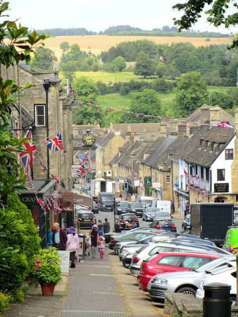 Burford High Street. Oxfordshire spent a lovely weekend here once. Pretty place to visit.