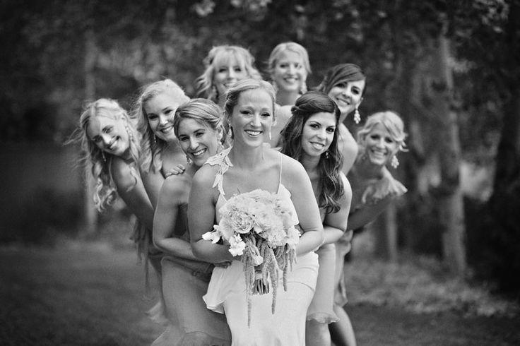 Taft and Longe Wedding   Sun Valley, Idaho   Sun Valley Magazine #weddingphoto #bridesmaids #weddingideas