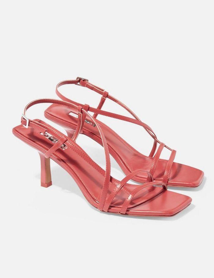Coral ShoesHeelsFashion Sandals Heeled Strippy In 2019Style dorxCBeW