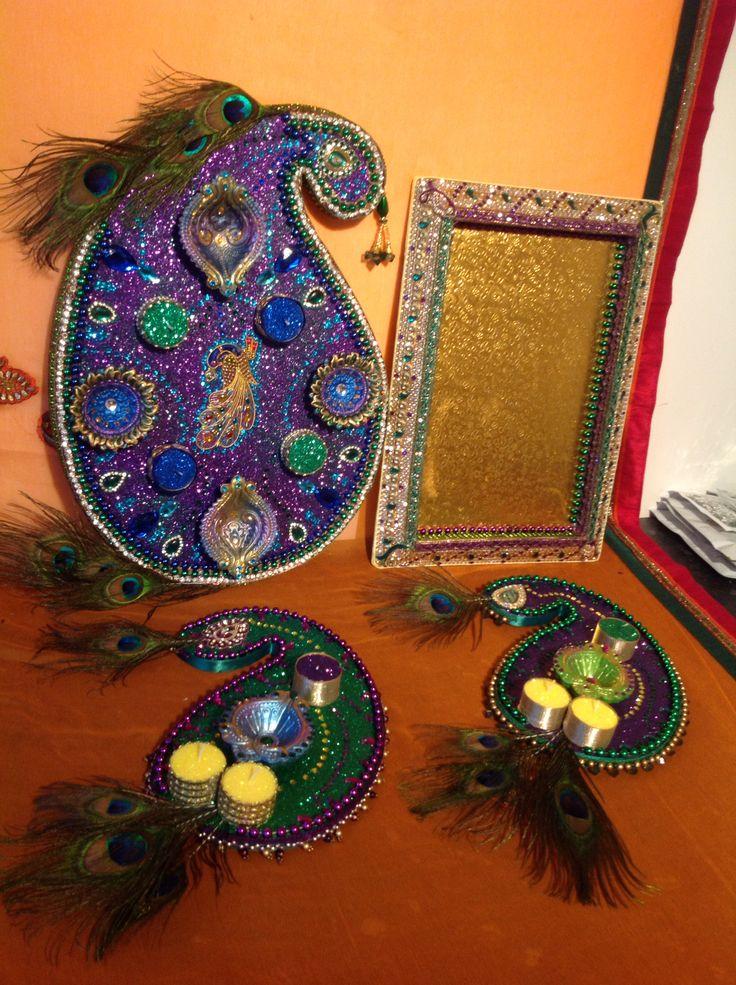 Mehndi Peacock Theme : Best images about mehndi plates on pinterest