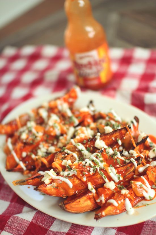 Buffalo Chicken Fries!  #Football #Clean Eating #Low Carb