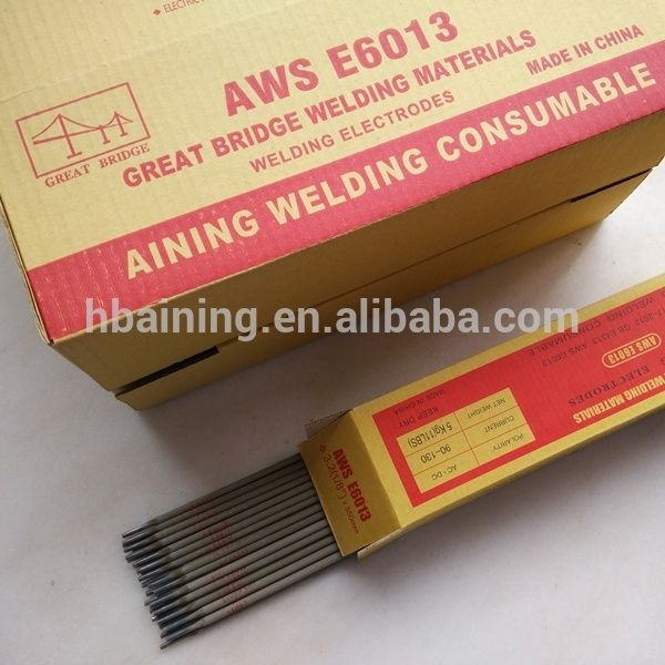 China Welding Rod E6013 / names of welding rod specification / AWS E6013 Welding Rod