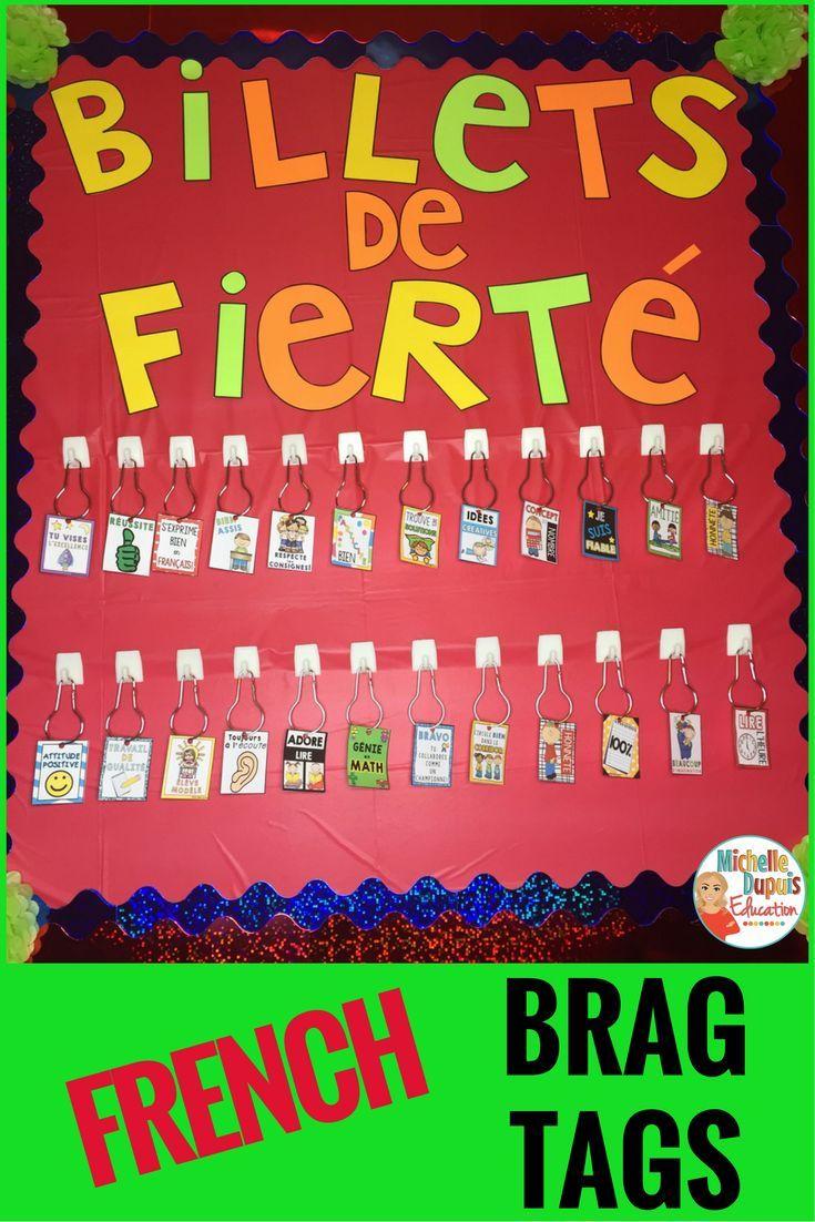Cette ressource est parfaite pour établir une DISCIPLINE POSITIVE en salle de classe. Les élèves recoivent des billets de fierté et des signets souvenirs pour leurs bons comportements.