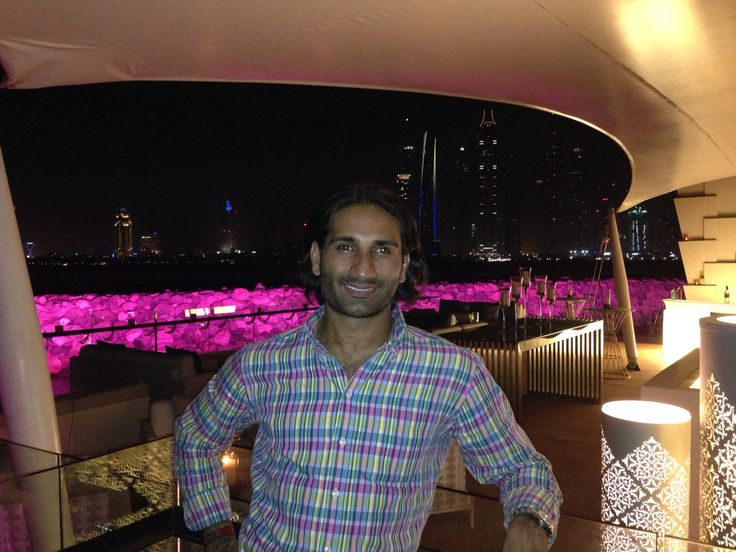 At the one and only Palm Resort in Dubai - August 2014!