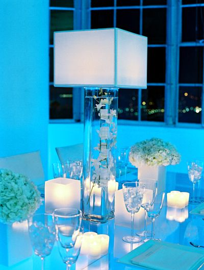 Yes! A how-to guide for faux lamp centerpieces!