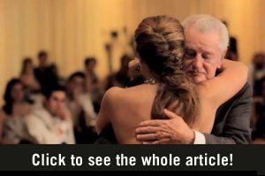Bijzondere vader-dochter dans zo beautifal!