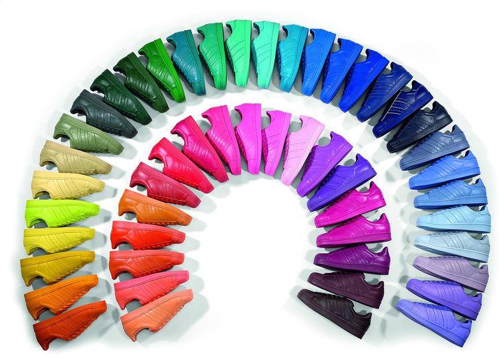 So-style, Francesca Sottilaro Adidas Superstar Supercolor by Pharrell Williams