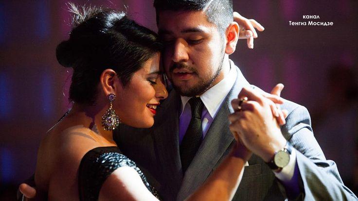 """Tango """"El huracan"""". María Inés Bogado and Sebastián Jiménez with """"Solo Tango orchestra"""". Танго - YouTube"""