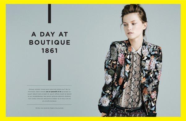Layouts in Magazine Design