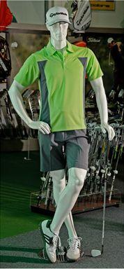 Male Golf Mannequin #shopforshops #custommannequin #golf #golfmannequin #custom #customsolutions #mannequins #sporting