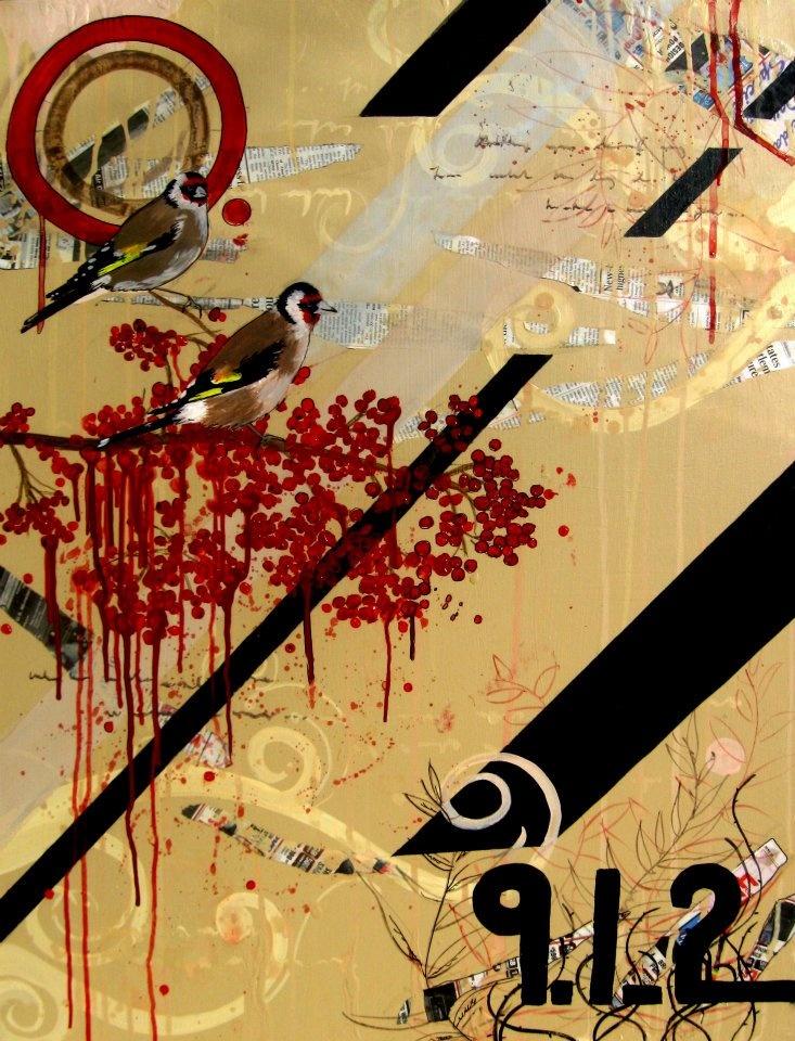 "St. Thomas  30"" X 40""   Acrylic on Canvas    http://lorigilbertfinearts.com/"