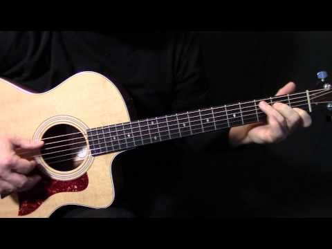 """how to play """"Yesterday"""" on guitar by The Beatles Paul McCartney - acoustic guitar lesson tutorial - YouTube"""