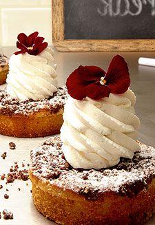 Kuchen mit Tonkabohnen