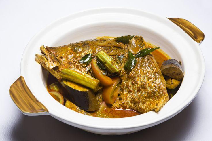 Lion City's Curry Fish Head #Singapore #Vietnam