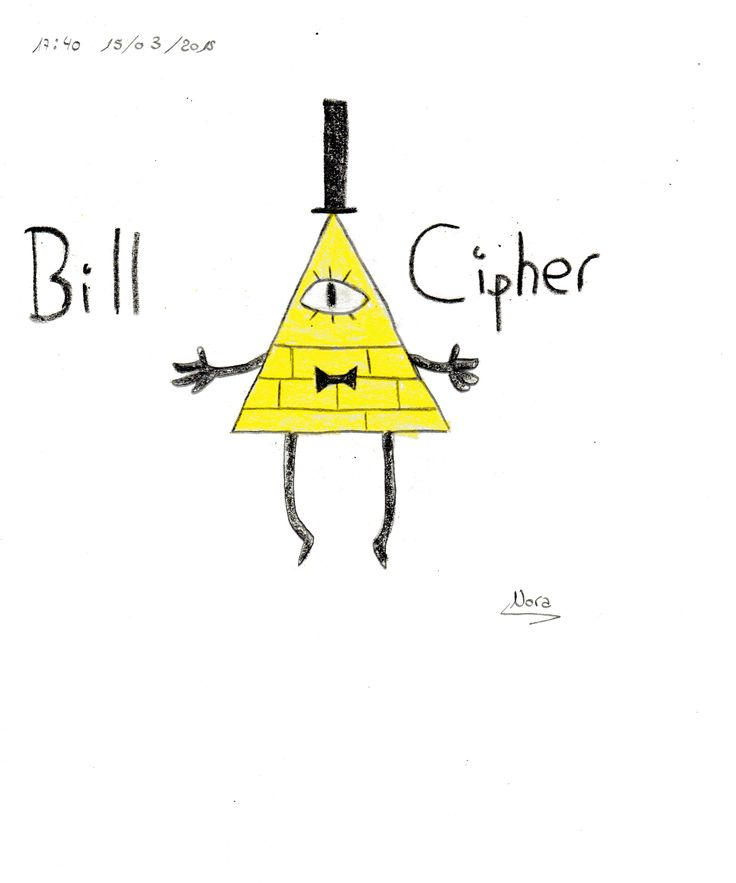Bill, de la serie Gravity Falls !!