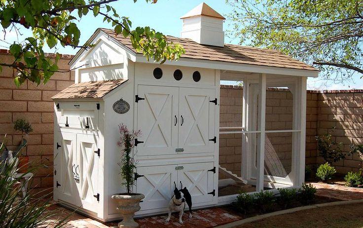 HOME & GARDEN: Le design du poulailler !