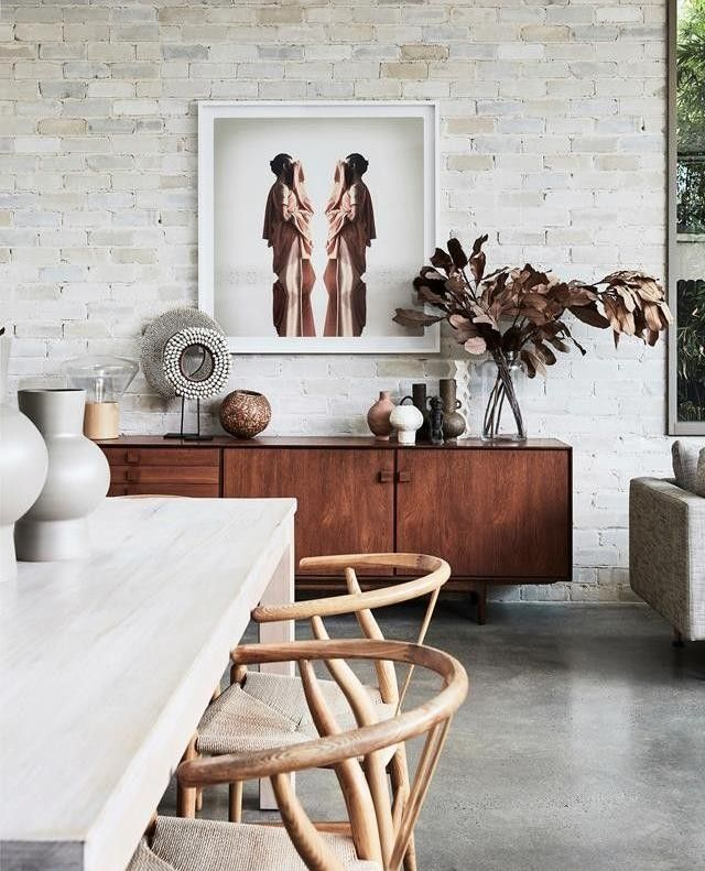 Real Living On Instagram Concrete Floors Exposed Brick And
