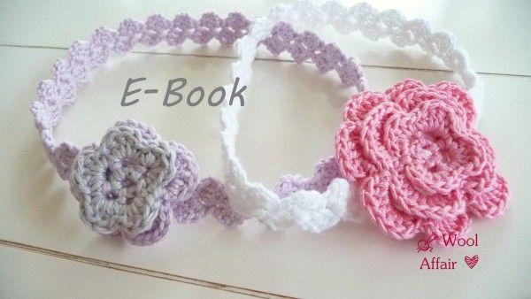 Haarband mit Blüte häkeln // DIY Stirnband