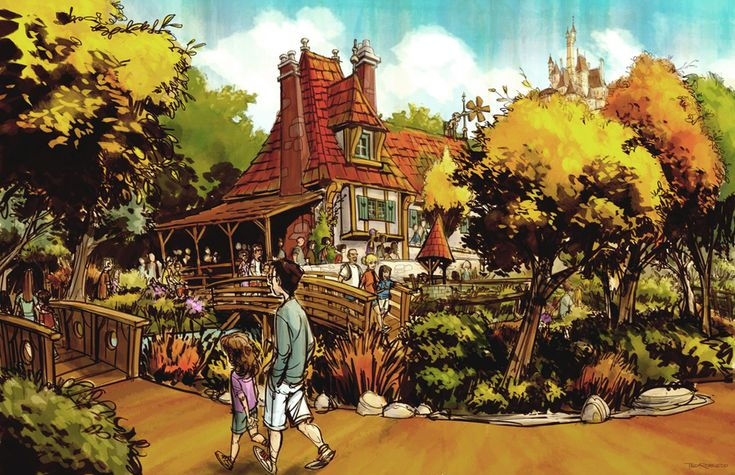 More Details (and videos) about Disney World's New Fantasyland - Enchanted Tales with Belle