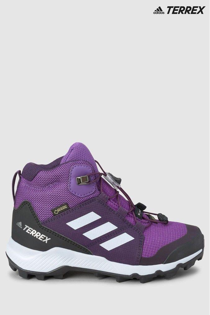 adidas Terrex Purple Goretex Mid Boots