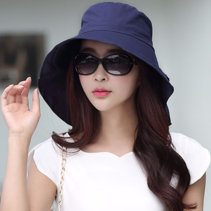 Siggi Summer Bill Flap Cap SPF 50 Cotton Sun Golf Hat With Neck Cover Cord Crushable Wide Brim Collapsible For Women -in Sun Hats from Women's Clothing & Accessories on Aliexpress.com   Alibaba Group