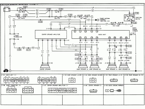 12 Rx7 1980 Wiring Diagram Car Stereo Diagram Rx7 Mazda Rx7