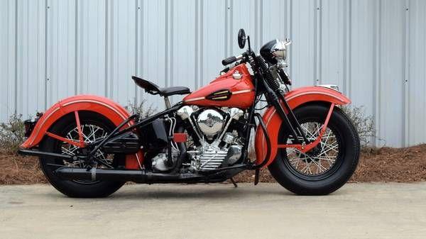 Harley Davidson El Auction Record Set Then Broken In Las With