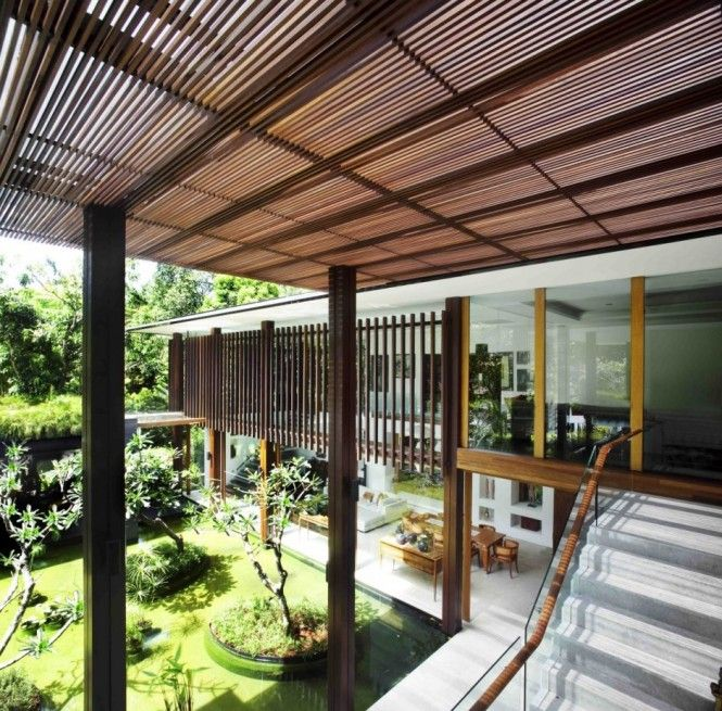 The Sun House By Guz Architects A Hevean Of Green In: Brise Soleil Images On Pinterest