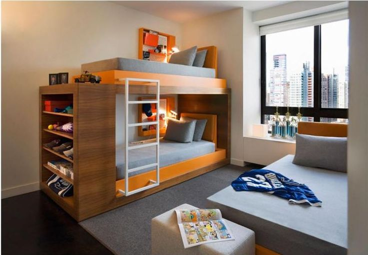 3 beds and storage space