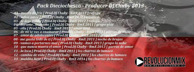 descarga Pack Dieciochero – Prod.DJ Chuby 2013 ~ Descargar pack remix de musica gratis | La Maleta DJ gratis online