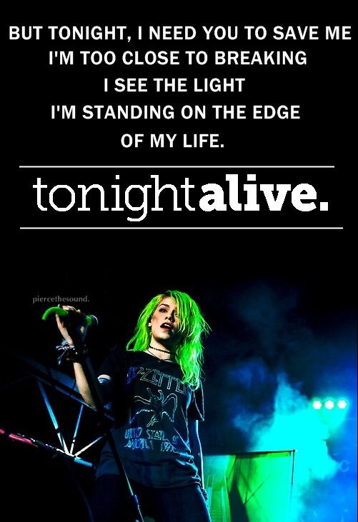 "Tonight Alive - ""The Edge"""