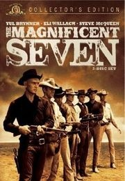 The Magnificent Seven: James Of Arci, James Coburn, Westerns Movies, Favorite Movies, Steve Mcqueen, Charles Bronson, Movies Poster, Classic Movies, Yul Brynner