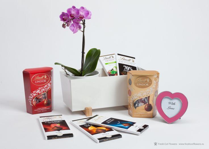 Орхидея и шоколад