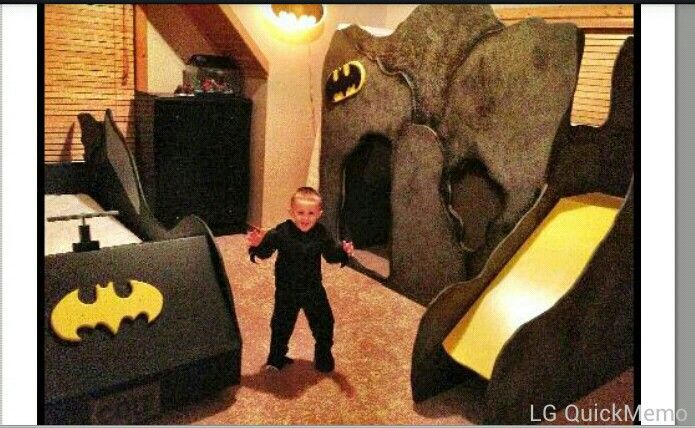 these batman beds are awesome!