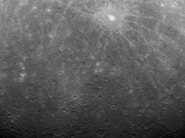 First Image Ever Obtained from Mercury Orbit