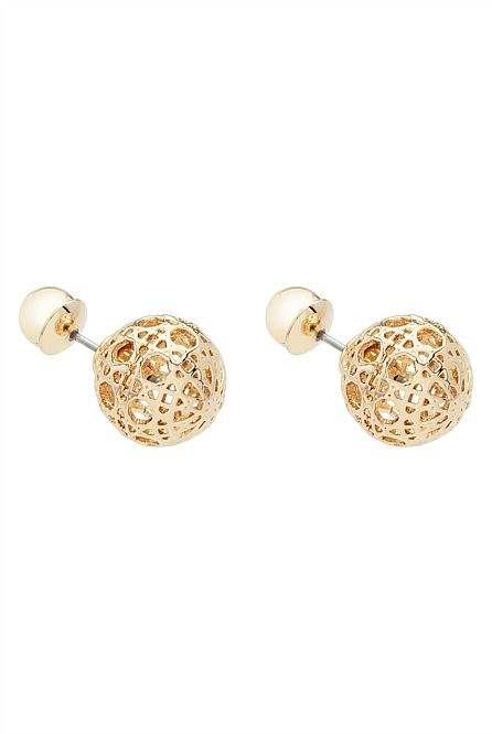 Double Cage Earrings