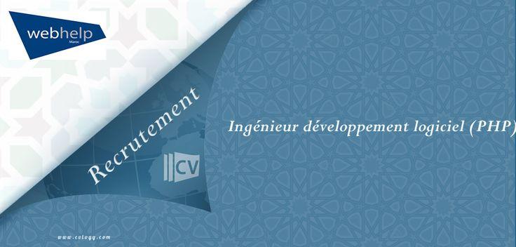 #Webhelp #Rabat: #Recrutement d' #Ingénieur #développement #logiciel ( #PHP )