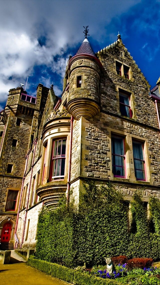 Belfast Castle, Northern Ireland - Explore the World with Travel Nerd Nici, one Country at a Time. http://TravelNerdNici.com