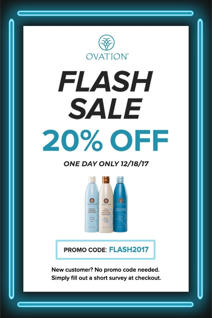 Our 20% off one day #flashsale is happening now! Order today and receive by 12/24! Promo code: FLASH2017