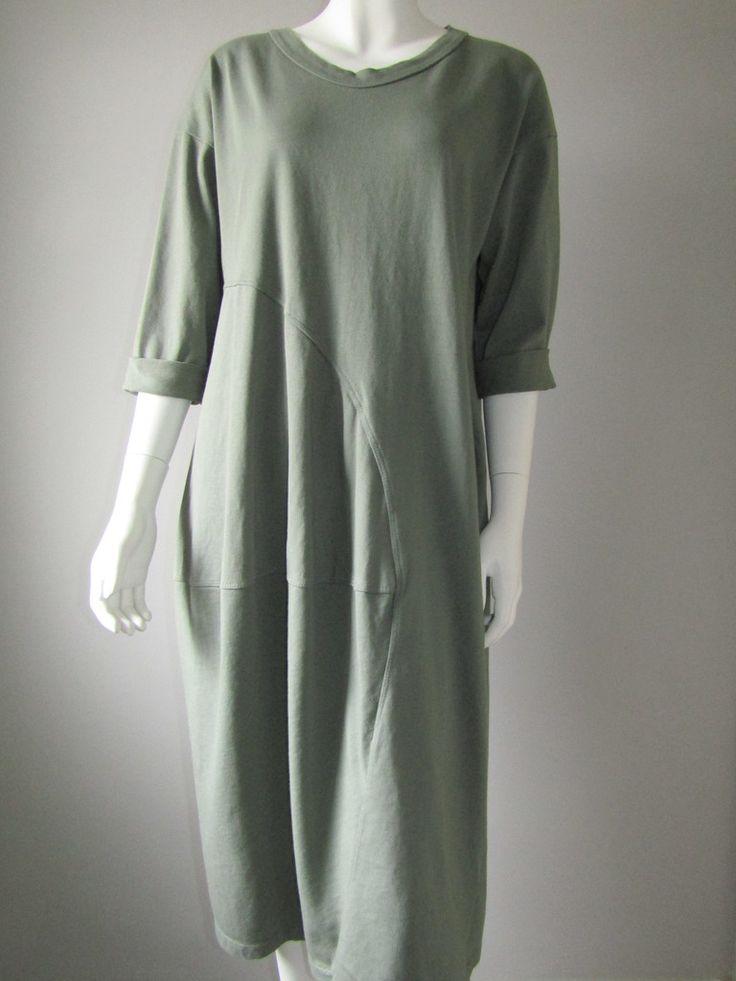 Wendy trendy long-length khaki dress