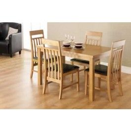 £259.99   Athens Dining Set Is Ideal For The Modern Dining Room Interior In  Need Of A Stylish, Hard Wearing And Comfy Seating Solution. Athens Large  Dining ...
