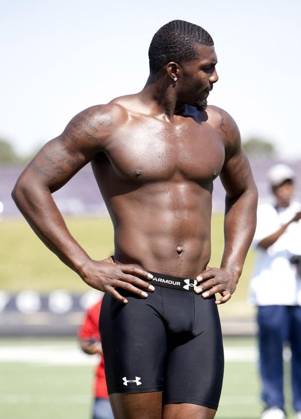 I think I could learn to love football if they could just play dressed like this. DEZ BRYANT