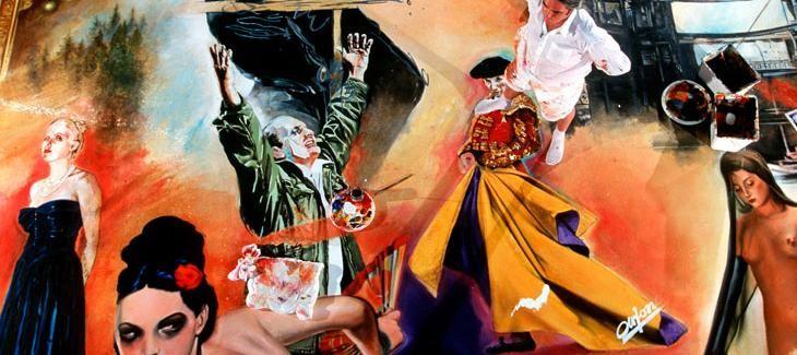 Durant l'été 1997, Jean-Paul Chambas a réalisé une fresque dédiée à l'opéra, visible dans le grand escalier du Théâtre du Capitole. Alain Mousseigne, directeur du centre d'art contemporain de Toulouse, nous présente l'oeuvre.