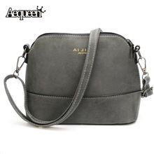 Vintage Nubuck Shell Shoulder Bags Detachable Straps Winter Women Small Crossbody Fashion Lady School Pouch Messenger Bag