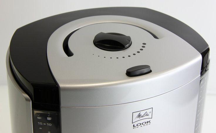 Amazon.co.jp: Melitta(メリタ) ルック デラックスII ブラック 【2~10杯用・1×4のフィルターペーパーに対応】 MKM-9110/B: ホーム&キッチン