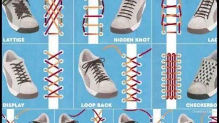 80 Model Ikat Sepatu Paling Bagus Sepatu Model Sepatu Model