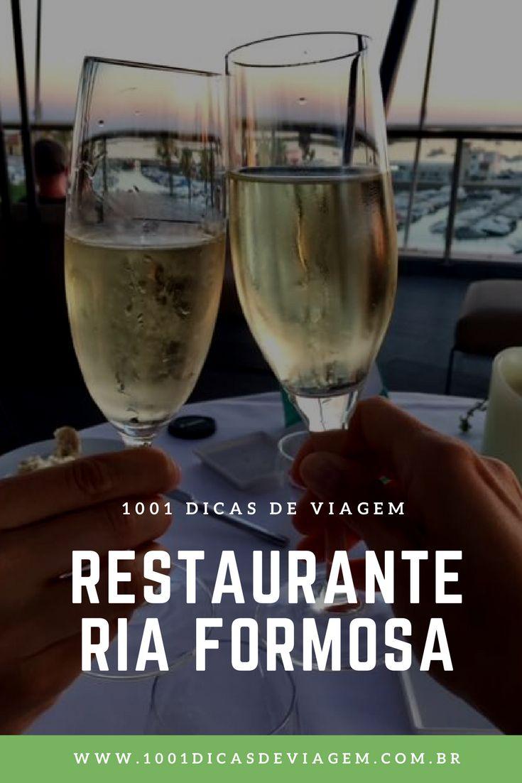 Estivemos em Lisboa, Sintra, Cascais, Lagos e terminamos as nossas férias em Faro, região de Algarve em Portugal. Vem conferir o review do Restaurante Ria Formosa no Hotel Faro.