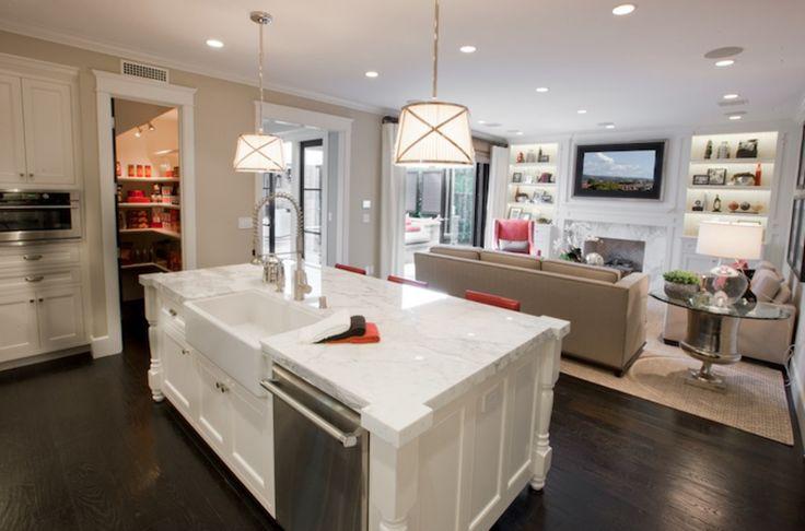 Kitchen cheap kitchen table sets kitchen island with sink tile backsplash in kitchen 800x529 - Functional kitchen island with sink ...